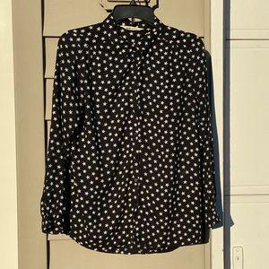H&M Star Button Down Shirt